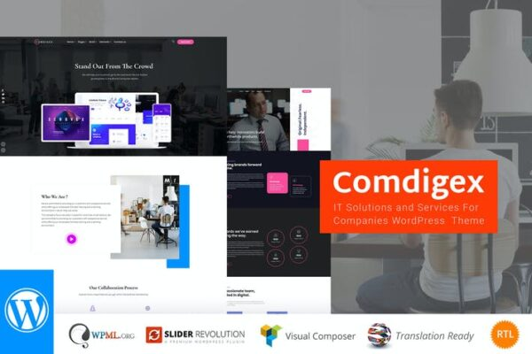 Comdigex - IT Solutions and Services WP Theme 1