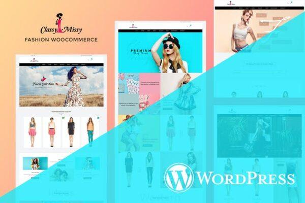 Fashion Woocommerce - Responsive Woocommerce Theme 1