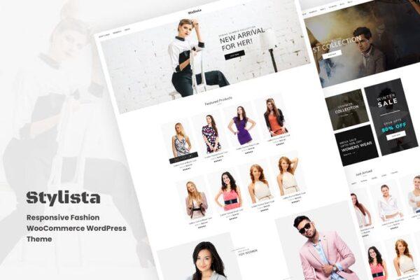 Stylista - Responsive Fashion WooCommerce WordPres 1