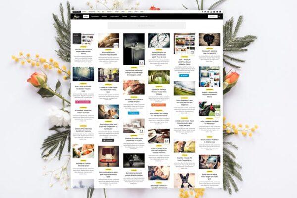 Bou - Personal News Review / Magazine Theme 1