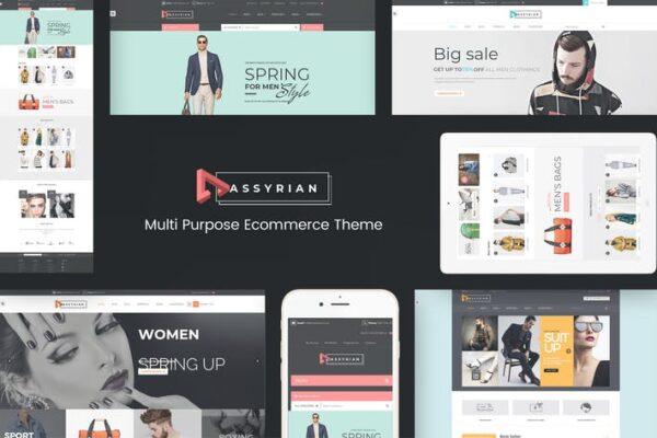 Assyrian - Responsive Fashion WordPress Theme 1