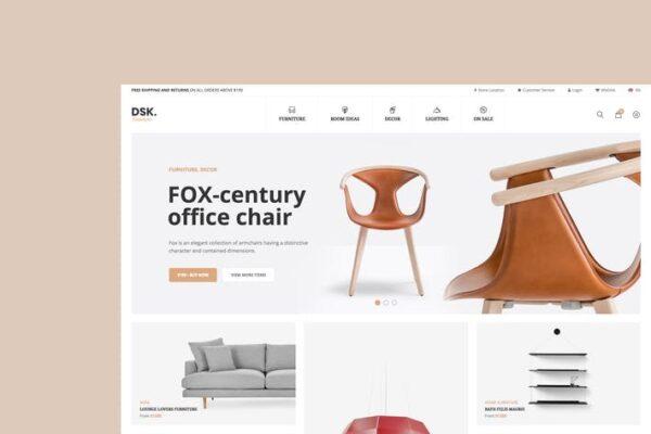 DSK - Furniture Store WooCommerce WordPress Theme 1
