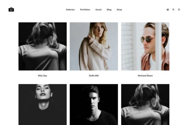 Bokeh - Photography Portfolio Theme 1