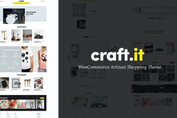 Craftit Artisan Shopping Theme 1
