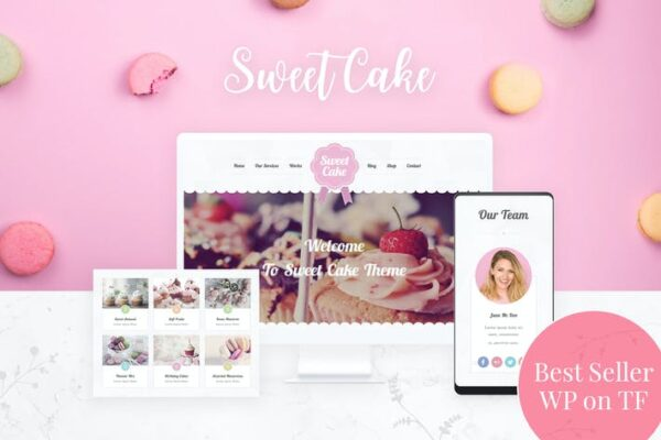 Bakery WordPress Theme 1