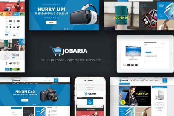 Jobaria - Technology WordPress Theme 1
