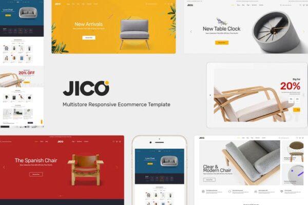 Jico - Furniture & Decor for WooCommerce Wordpress 1
