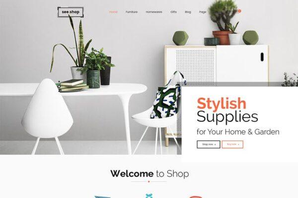 See Shop Furniture - Interior RTL Responsive WooCo 1