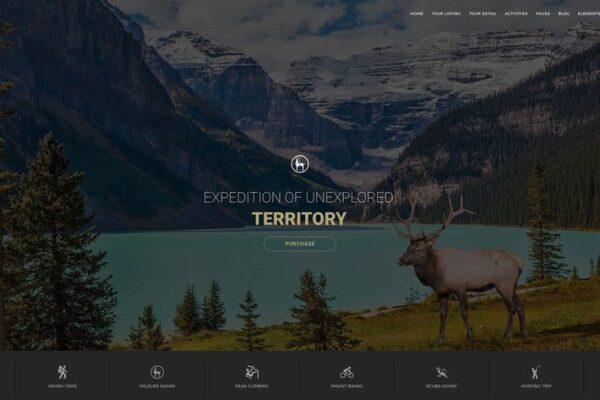 Entrada - Tour Booking & Adventure WordPress Theme 1