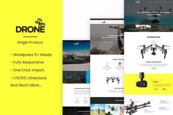 Drone - Single Product WordPress Theme 1
