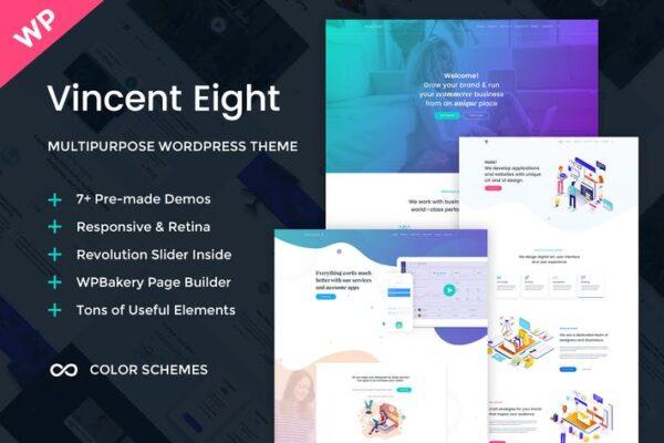 Vincent Eight - Multipurpose WordPress Theme 1