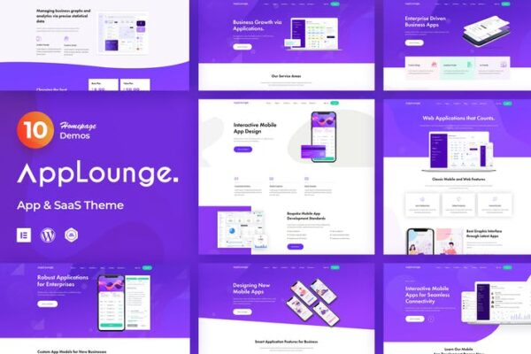 AppLounge - App & SaaS Software Theme 1