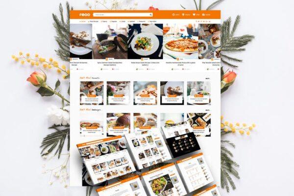 Tasty Food - Recipes & Food Blog WordPress Theme 1