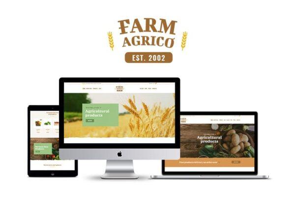 Farm Agrico - Agricultural Business WP Theme 1
