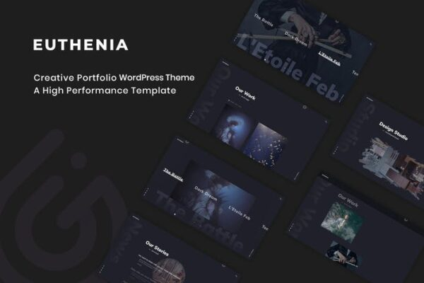 Euthenia - Creative Portfolio WordPress Theme 1
