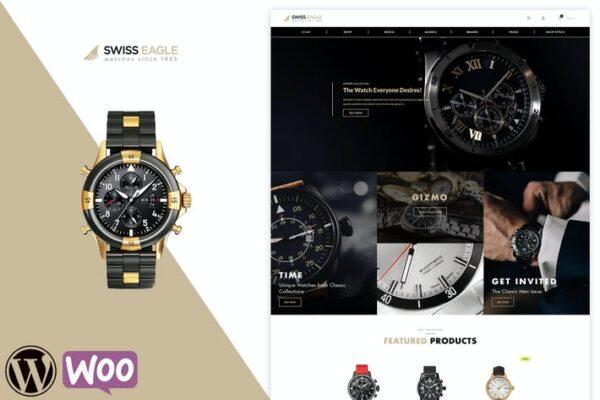 Swiss Eagle - WooCommerce Shop Theme 1