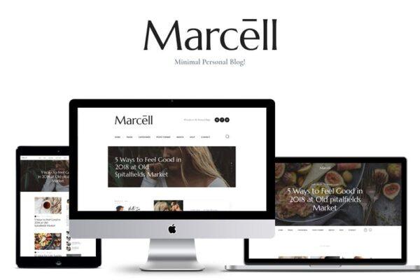 Marcell - Personal Blog & Magazine WordPress Theme 1