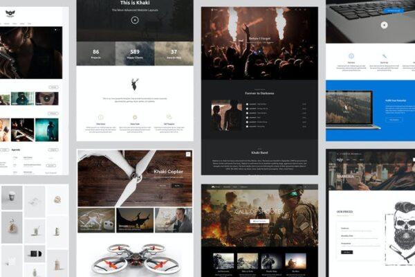 Khaki - Responsive Multi-Purpose WordPress Theme 1