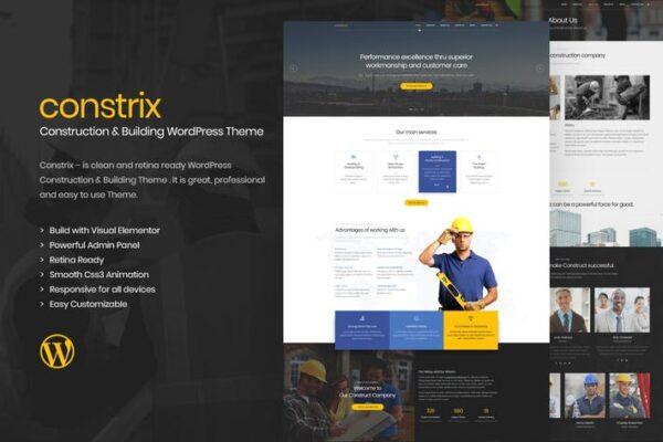 Constrix - Construction & Building WordPress Theme 1