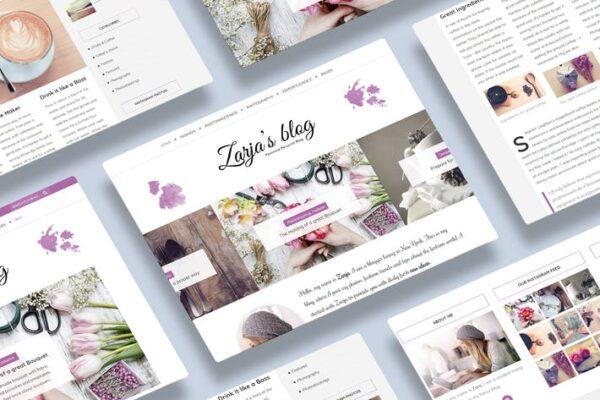 Zarja - WordPress Blog Theme 1
