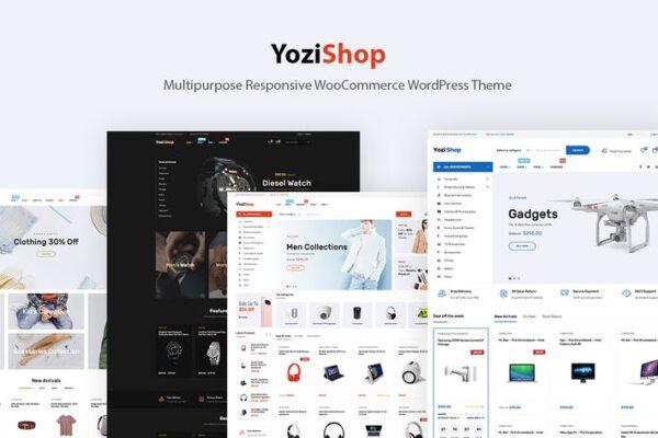 Yozi - Electronics WooCommerce WordPress Theme 1