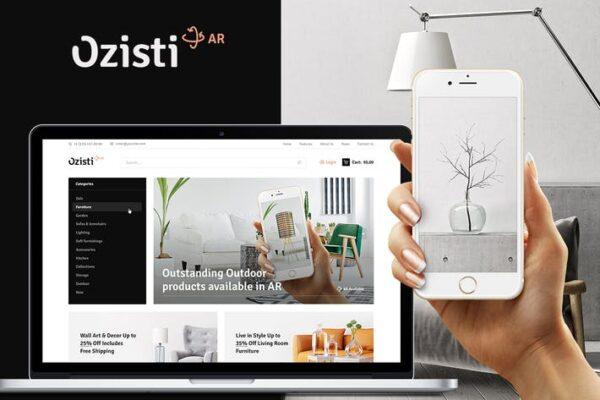 Ozisti - Augmented Reality WooCommerce Theme 1
