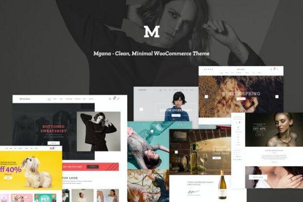 Mgana - Clean, Minimal WooCommerce Theme 1