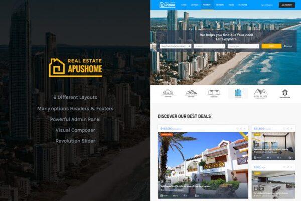 ApusHome - Real Estate WordPress Theme 1