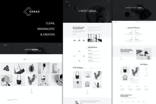 CEZAN - Minimal Creative WordPress Theme 1