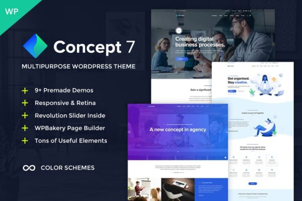 Concept Seven - Multipurpose WordPress Theme 1