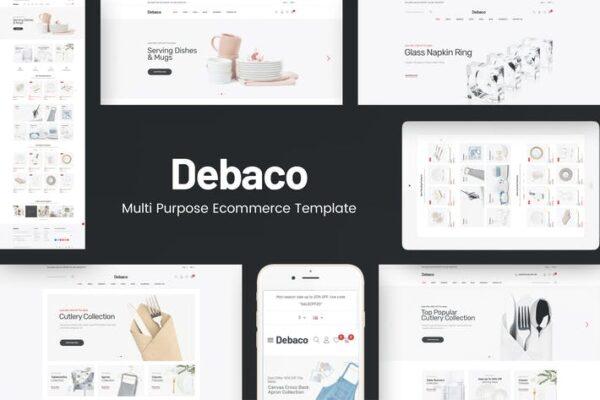 Debaco - Kitchen appliances for WordPress Theme 1