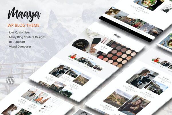 Maaya Blog - Travel Blog, Personal Blog 1
