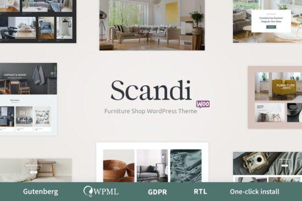 Scandi - Decor & Furniture Shop WooCommerce Theme 1