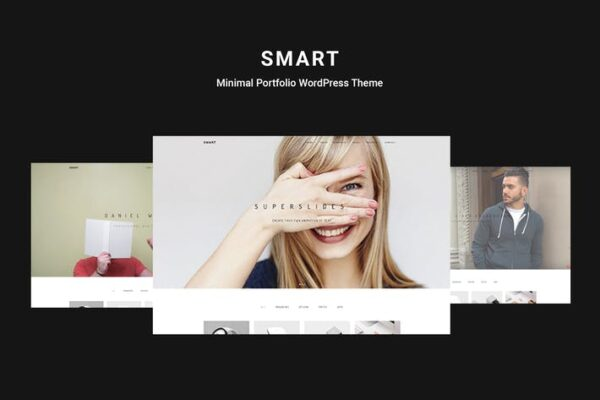 Smart - Minimal Portfolio WordPress Theme 1