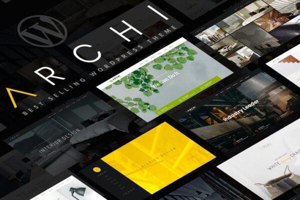 Archi - Interior Design WordPress Theme 1