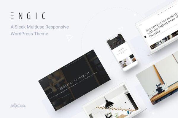 Engic - Multiuse Responsive WordPress Theme 1