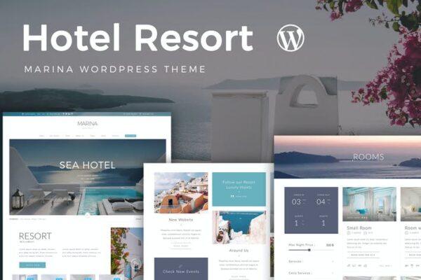 Resort Hotel WordPress Theme 1