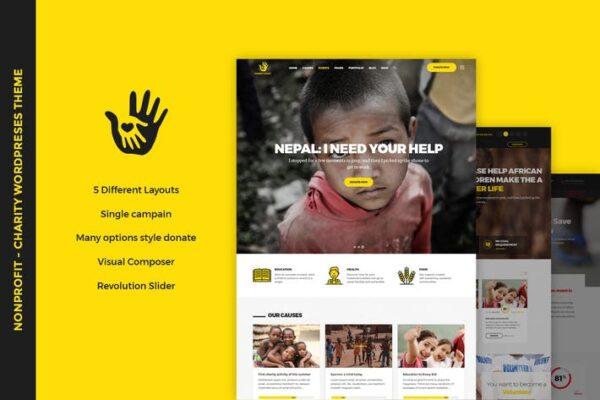 CharityHeart - Nonprofit WordPress Theme 1
