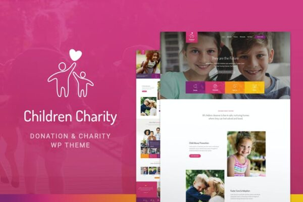 Children Charity - Nonprofit & NGO WordPress Theme 1