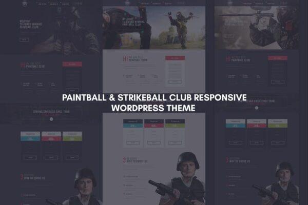 SharpShot - Responsive WordPress Theme 1