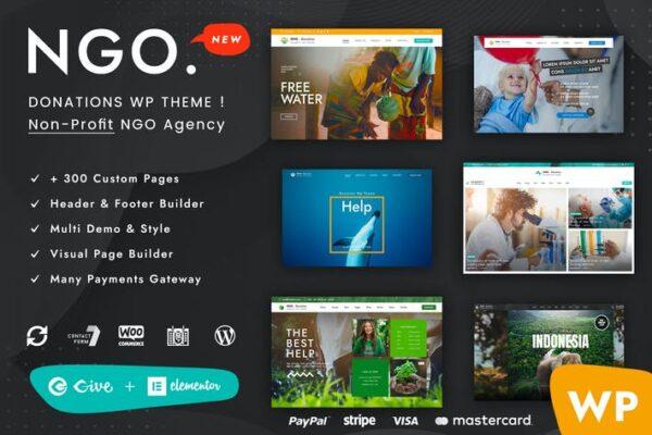 Ngo - Charity & Donation WordPress Theme 1