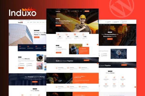 Induxo - Industry WordPress Theme 1