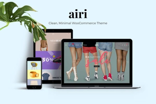 Airi - Clean, Minimal WooCommerce Theme 1