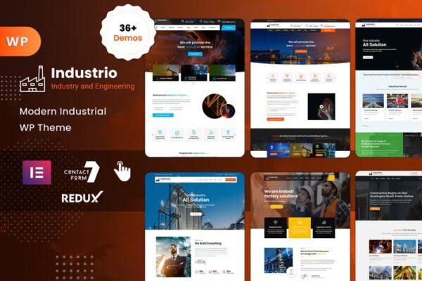 Industrial - Industry & Factory WordPress 1