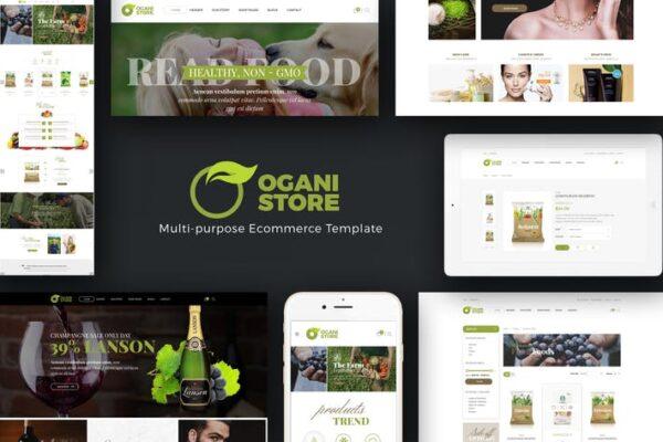 Ogani - Organic Food Store Theme for WooCommerce 1