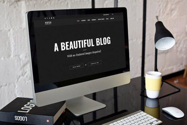 RibTun - WordPress Blog Theme For Writers 1