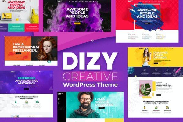 Dizy - Creative Portfolio Theme 1