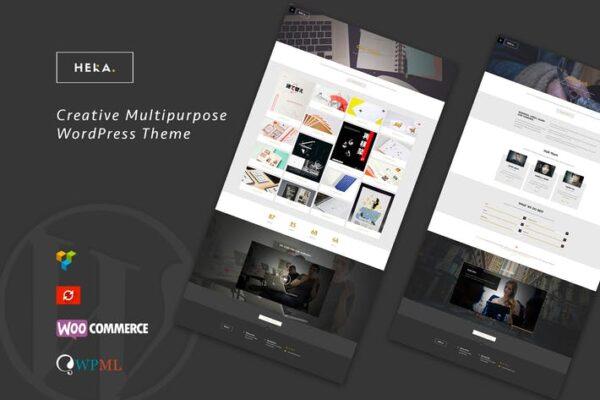 Hera - Creative Multipurpose WordPress Theme 1