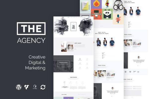 The Agency - Creative One Page Agency WP Theme 1