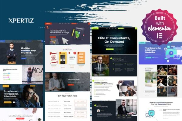 Xpertiz - WordPress Theme For Advisors And Experts 1